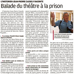 la Provence article after chave